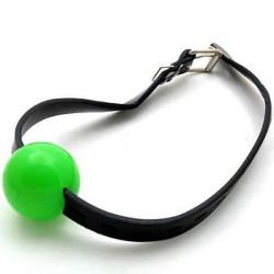 РАСПРОДАЖА! Классический кляп для рта зеленый