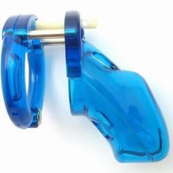 Синее мужское устройство целомудрия CB-3000