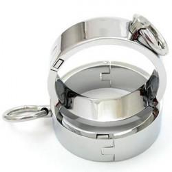 Unisex сталеві кайдани для рук - M