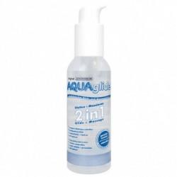 РОЗПРОДАЖ! Вагінальна мастило - Aquaglide Glide + Massage 2in1