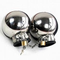 РАСПРОДАЖА! Металлические бондажные наручники