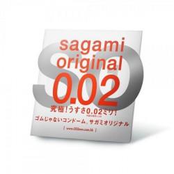 Поліуретанові презервативи Sagami Original 0.02мм, 1 шт