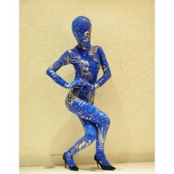 РОЗПРОДАЖ! Синьо-золотий костюм