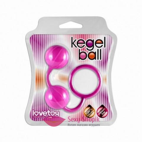 Фото Мячики кегли розовые Вагинальные шарики