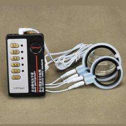 Электро-секс силиконовые пениса кольцо массажер