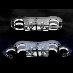 Полиметилметакрилат наручники / регульовані манжети з пальцем