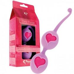 РОЗПРОДАЖ! Фіолетові вагінальні кульки - Любов