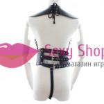 Фото Женская сбруя с еполетами Одежда, белье БДСМ