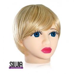Мастурбатор у формі голови «Silvia»