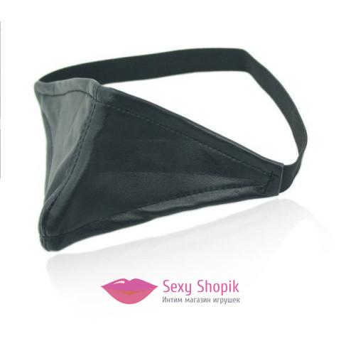 Фото Черная маска для рта Маски