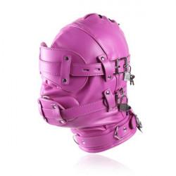 Закрытая розовая маска