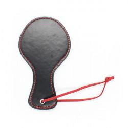 Круглая шлепалка на красном шнурке