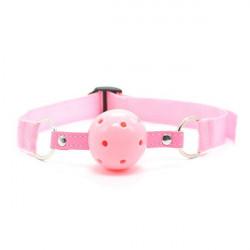 Розовый кляп для рта