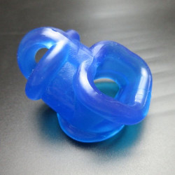TPR Annex Erection Enhancer Sex-Toys for Men - Blue