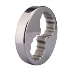 Stainless steel scrotum weight-bearing ring / 8 shape heavy ball stretcher male
