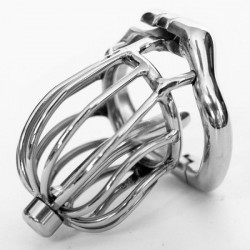 Stainless steel Male chastity devices Latest Design