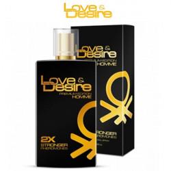 Феромони для чоловіків Love & Desire Gold men - 100ml