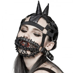 Neutral strapped mask